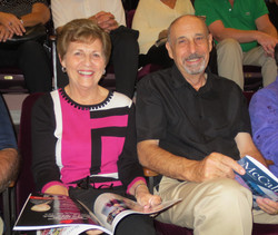 Sue and George Steele at Jersey Boys