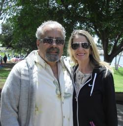 Vincent Caporusso and Sandy Gonzales