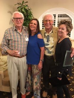 Les Olander, Jennifer Paige, Jim  Sivelle and Helga Osterman