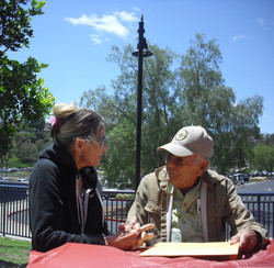 Sandy Gonzales and Dick Scoville Recalling Days in The  Glendale, CA Store