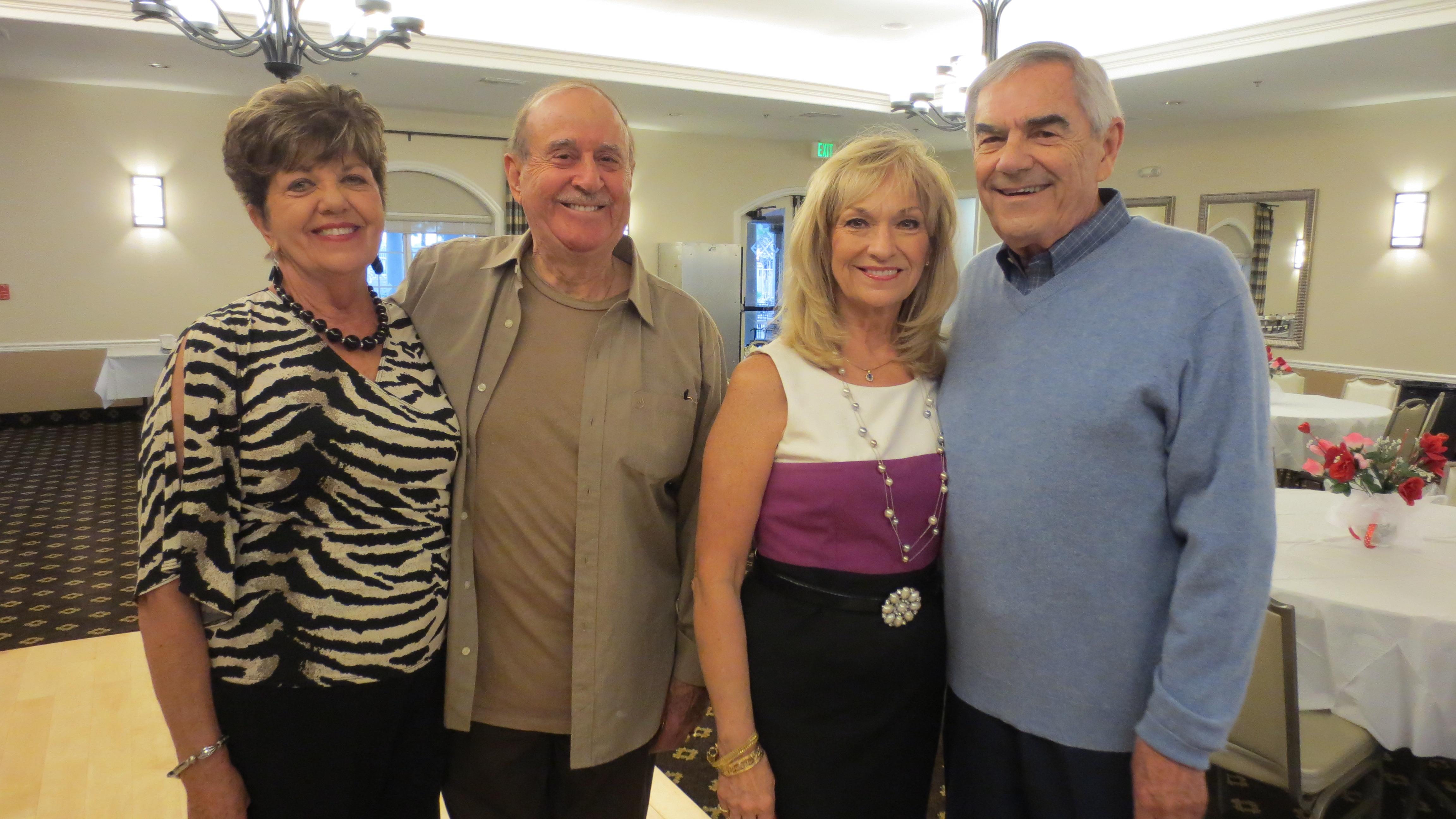 Veta & Tony Zarifis, Cheryl & Stan Newton