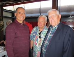 Mark Schultz, Jim Lyman and Jack Siebert