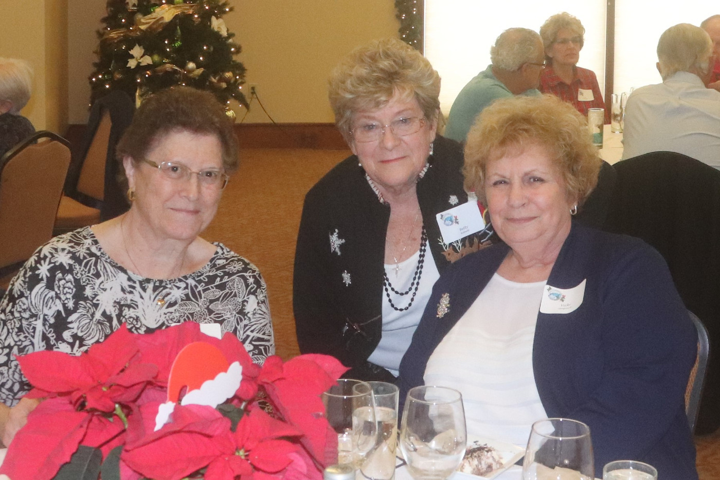 1 Janice Rhoades, Betty Bidwell, Vicky G