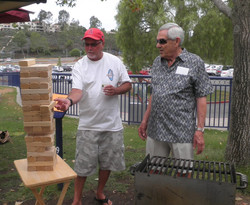 Tumbling Towers takes the measure of Larry McGrail and  Stan Newton.jpg