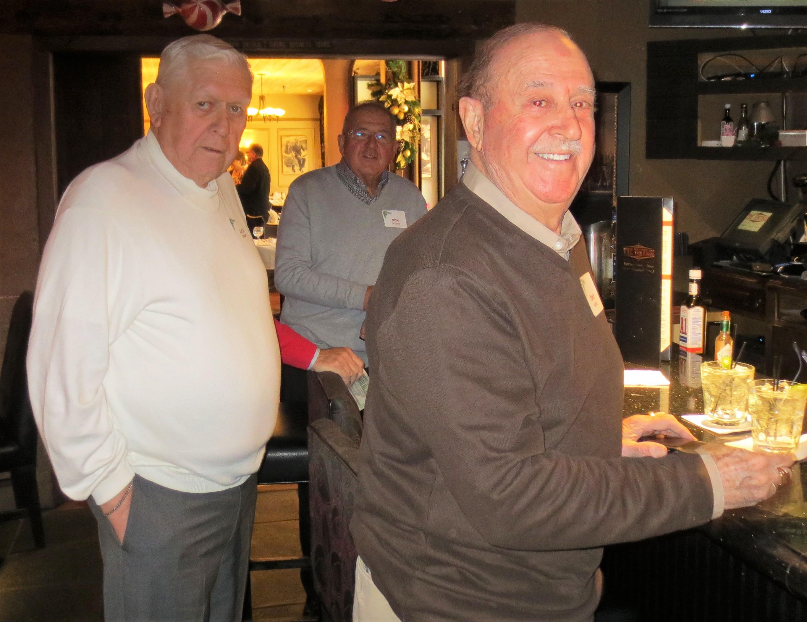 Jack Siebert, Ron Salzetti and Tony  Zarifis