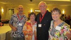 George Steele and Diane Anderson, Doug & Barbara Rush