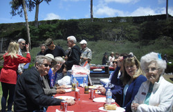 HCSC Members at Various Stages of Lunch - Copy
