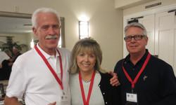 Ron Hudnall alongside Karen and Bill Miller at the Four Seasons Clubhouse.JPG