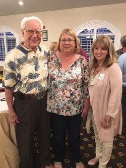 Jim Sivelle, Barbara Stagner and  Cheryl Noble
