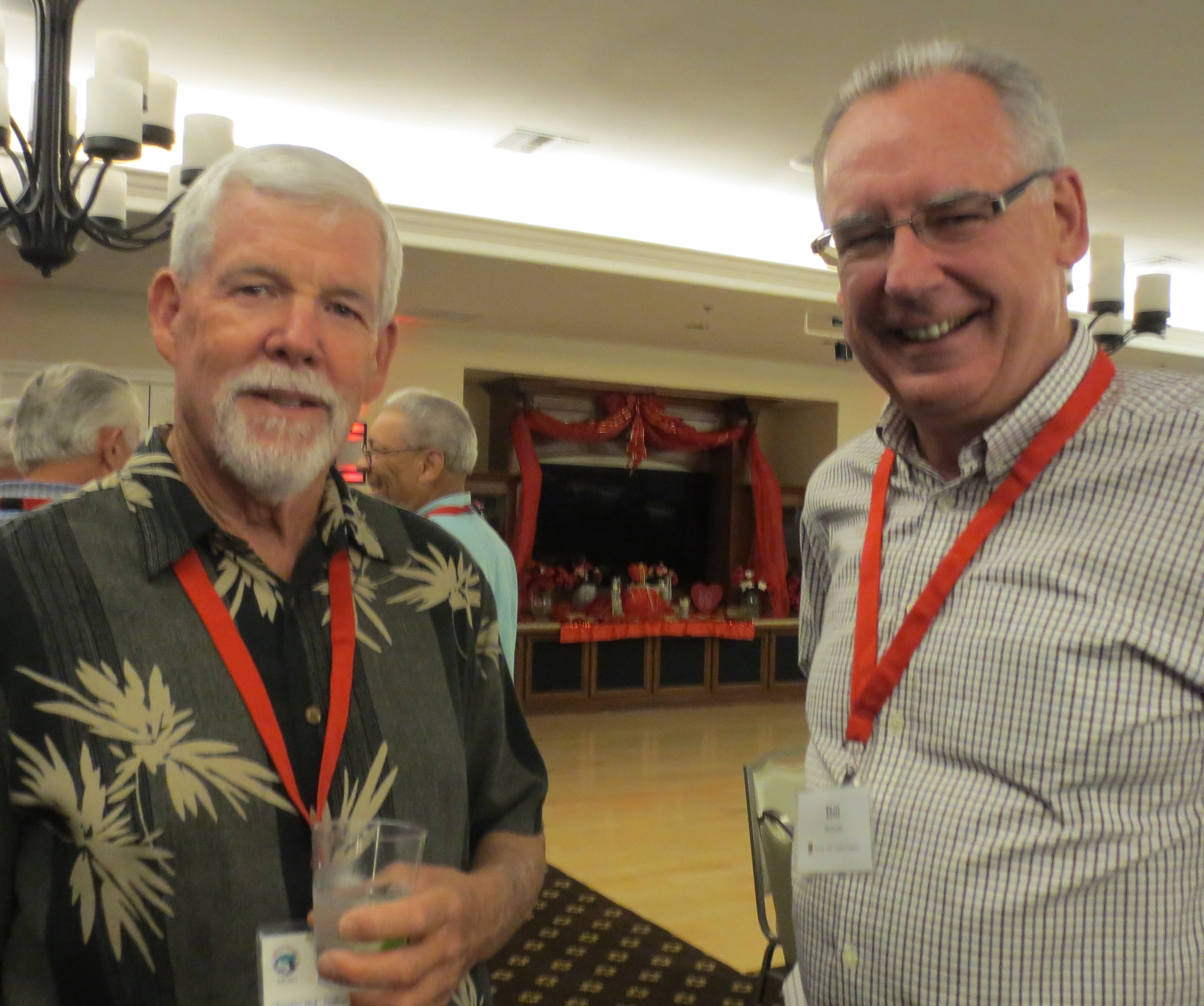 Bob Beard and Bill McGrath