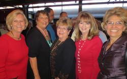 Melissa Rogers, Marilyn Willour, Betty Bidwell, Cheryl  Newton and Pat Fitzpatrick