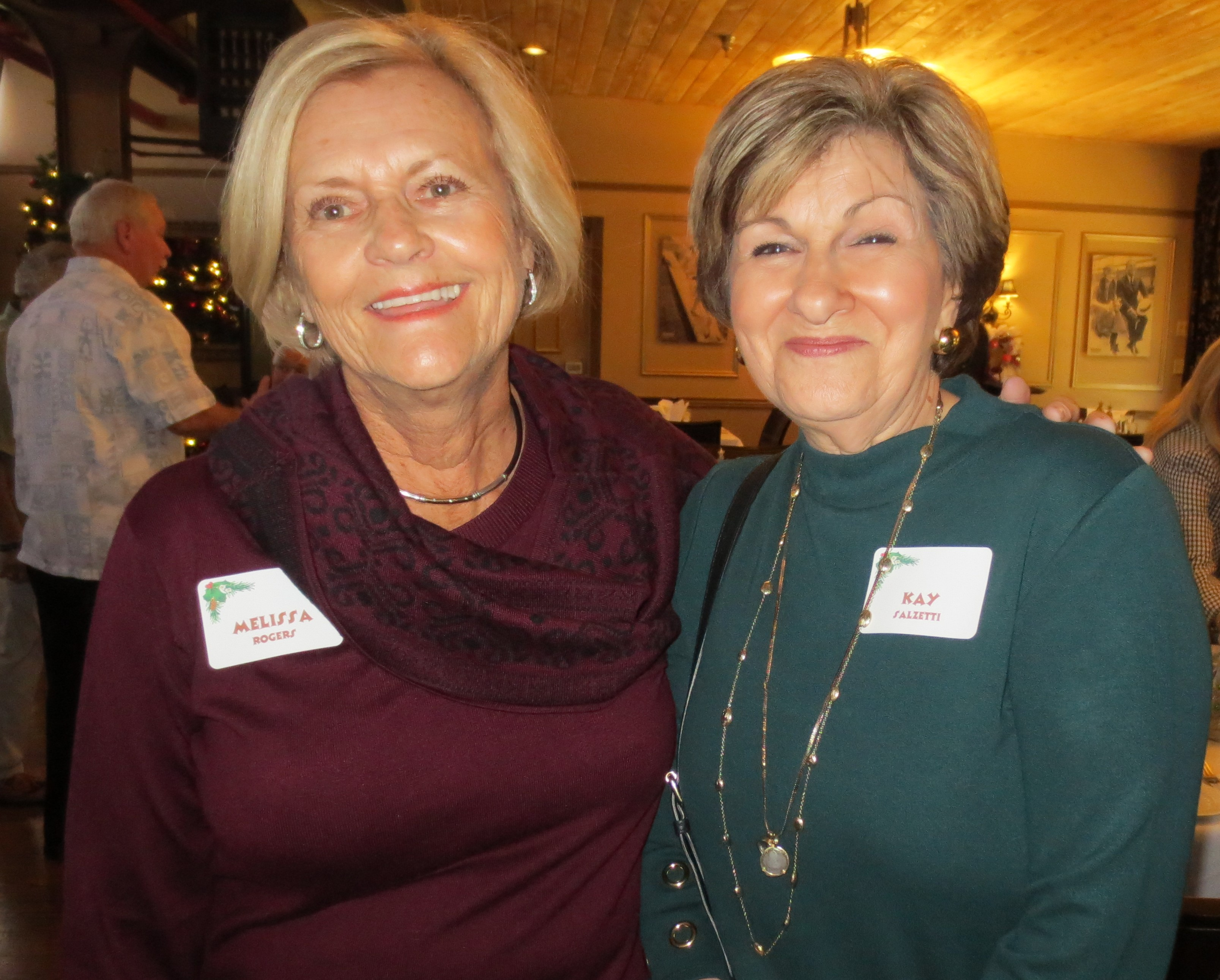 Melissa Rogers and Kay  Salzetti