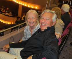 Susan and Ken Dall at the McCallum Theatre