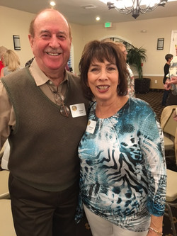 Tony Zarifis and Cathy Scott