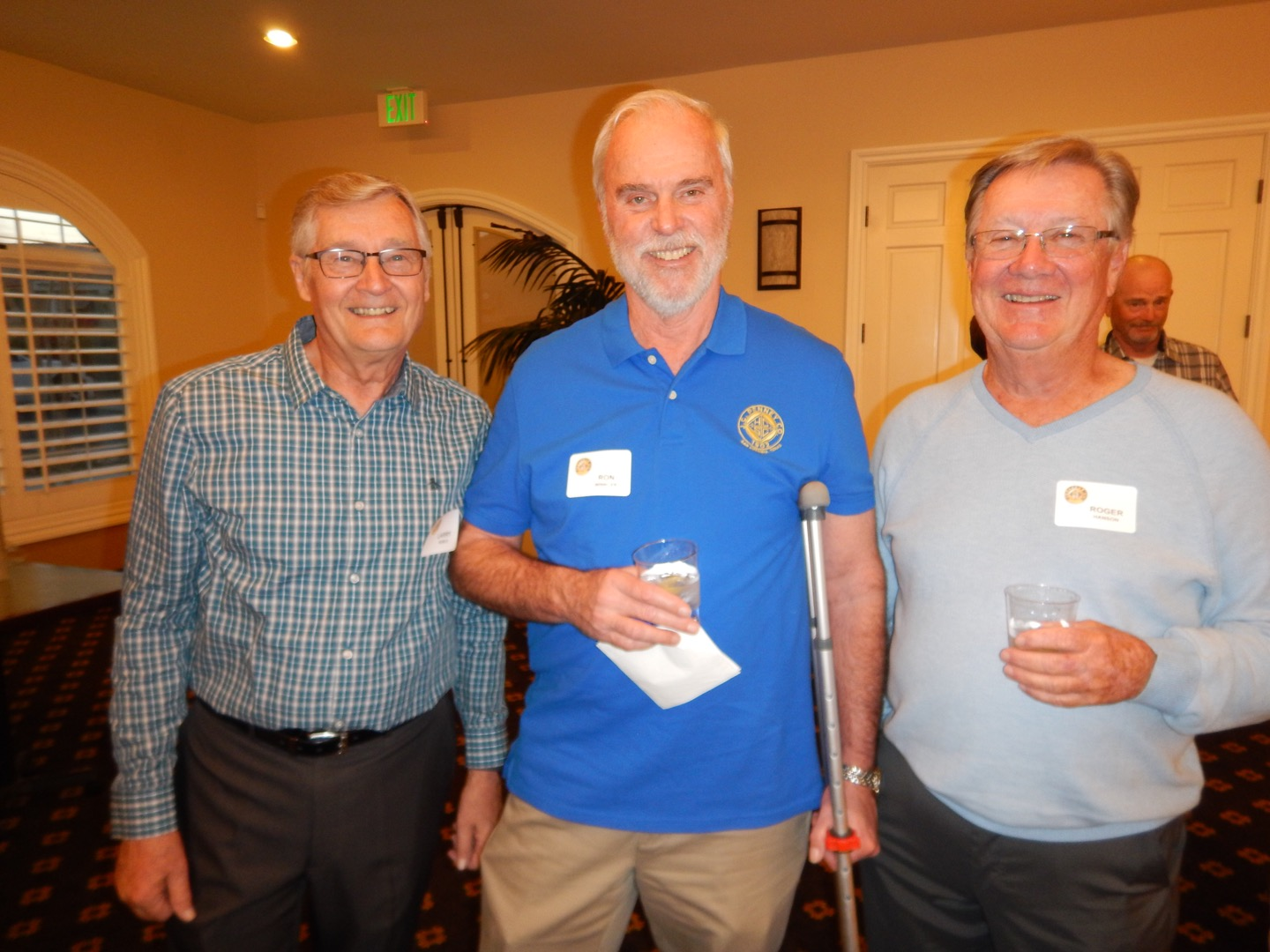 Larry Noble, Ron Winkler and Roger  Hanson