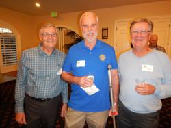 Larry Noble, Ron Winkler and Roger  Hanson