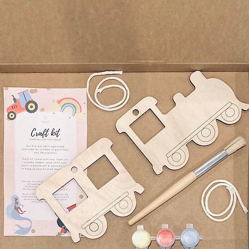 Train & Carriage Craft Kit