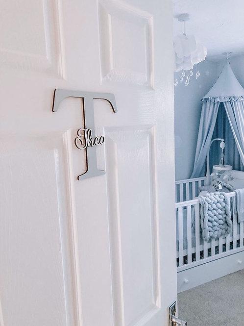 Personalised Initial/name door sign