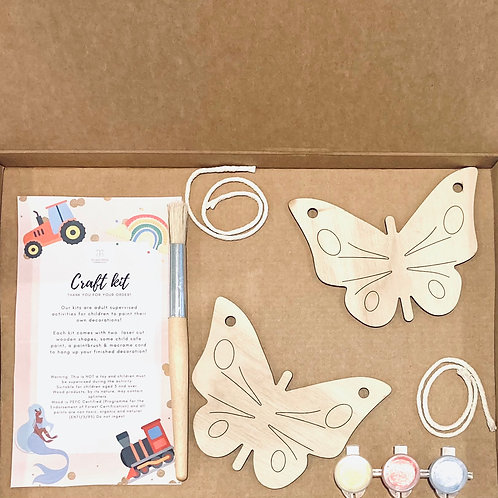 Two butterflies Craft Kit