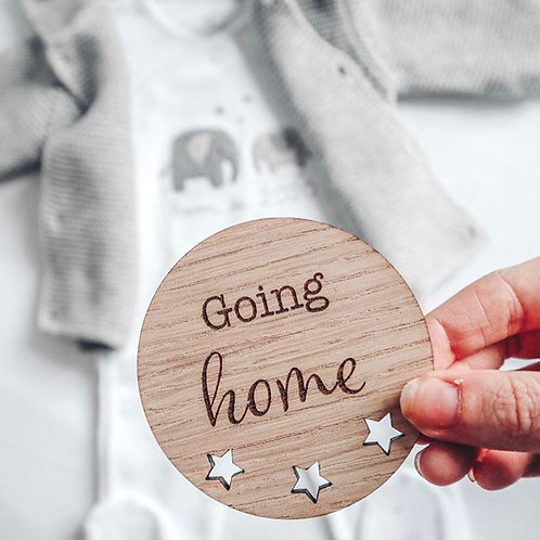 Going home card