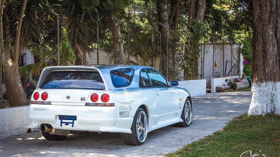"""1995 Skyline GTR """"Speed Wagon"""""""