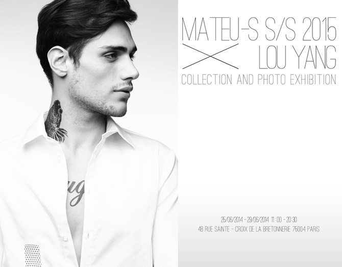 Photo Exhibition with Mateu-s S/S collection 2015