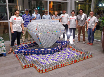 Canstruction Little Rock