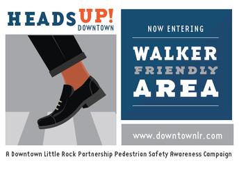 Heads Up Downtown - Pedestrian Safety Awareness Month Kicks Off
