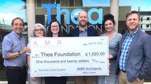 #AMRTISTS Raises over $1000 for Thea Foundation!