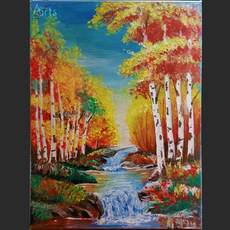 With the Autumn Breeze, the River Flows 23.6_ x 18.1_-OTH.png