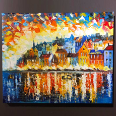 Houses by the River $200