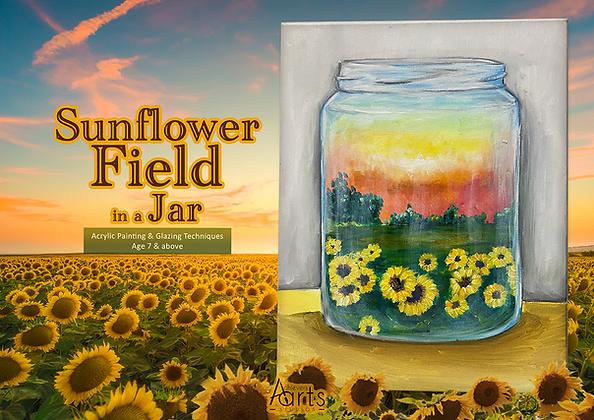 SunflowerFieldinaJar.png