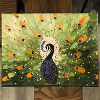5 Peacock 24_ x 18_-OTH(Donated to NNI Brain Awareness Event May 2017).png