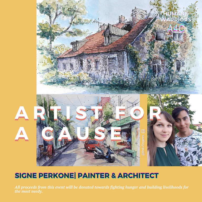 Raised 4000+ INR!! Painting for a cause with Signe
