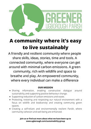 A community where it's easy to live sust