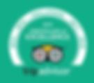 """Certifikát portálu TripAdvisor """"Certificate of Excellence"""" udělený naší marocké společnosti BerberTrekking.com"""