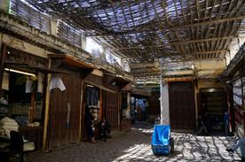 V medině ve Fezu