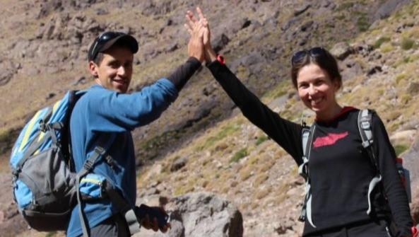 Tereza a Mohamed v horách