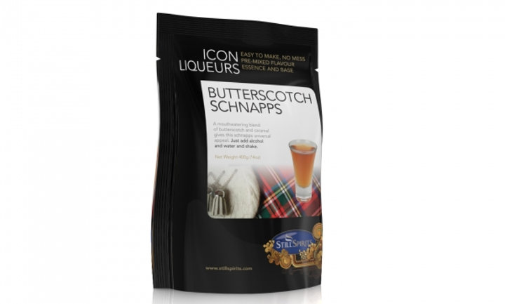 Butterscotch Schnapps Icon Top Up Liqueur Kit