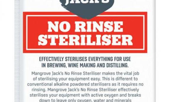 Mangrove Jack's 'No Rinse' Sterilizer 25g