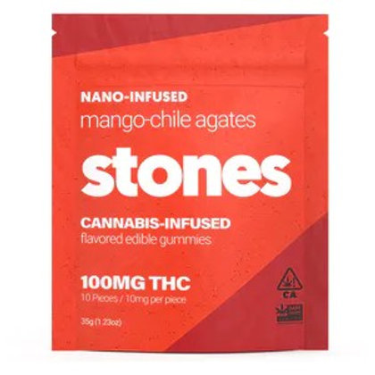 STONES - MANGO-CHILE AGATES (100MG)
