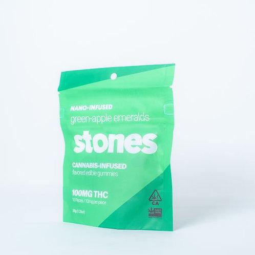 STONES - GREEN APPLE EMERALDS (100MG)