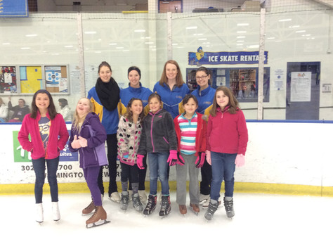 UD Figure Skating and Girl Scouts of Delaware