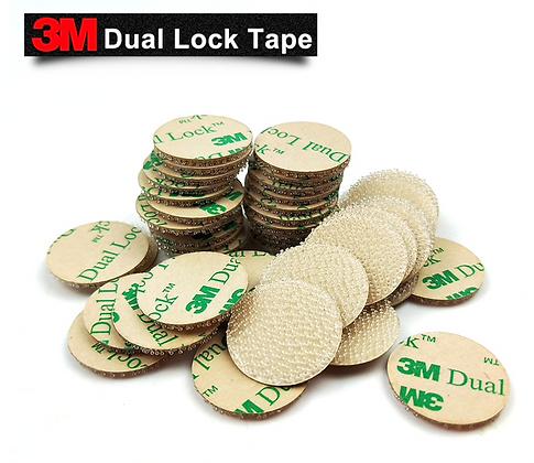 3M™ Dual Lock™ 30pcs Clear 20mm Circle SJ4570 Low Profile