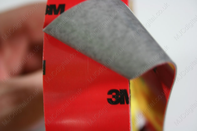3M x 30mm Auto Acrylic Foam Double Sided Attachment Adhesive Tape