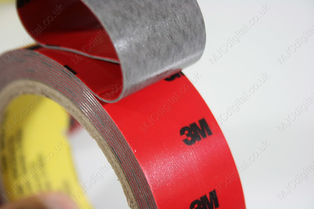 3M x 8mm Auto Acrylic Foam Double Sided Attachment Adhesive Tape