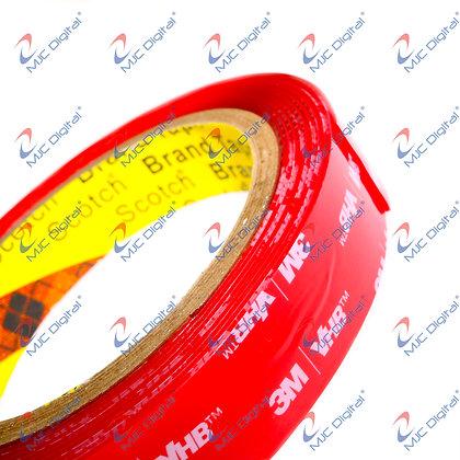 3M™ VHB 15mm x 3 meters 4910 Clear Double-Sided Tape Acrylic Foam Heavy