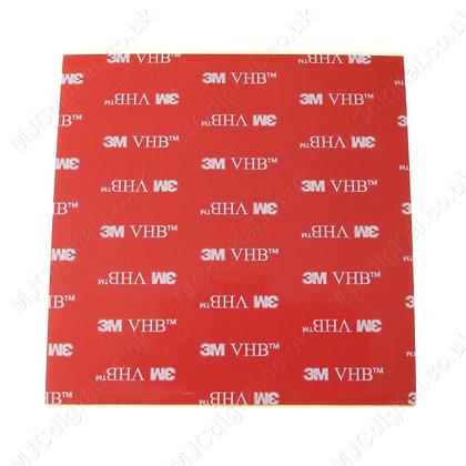 3M™ VHB 100 x 100mm 5925 Sheet Black Acrylic Foam Double Sided Tape 0.64mm Thick