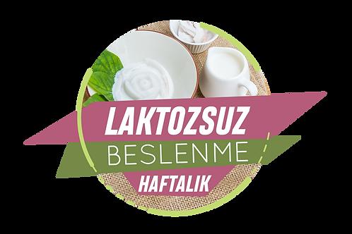 Laktozsuz Beslenme - Haftalık