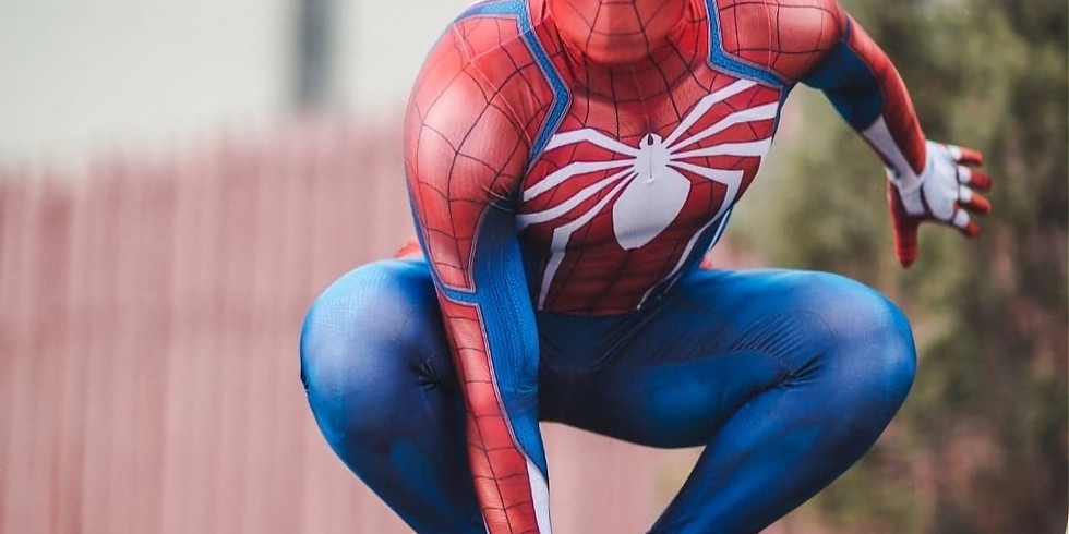 Video Calls with Spider-man on Wednesday, April 1